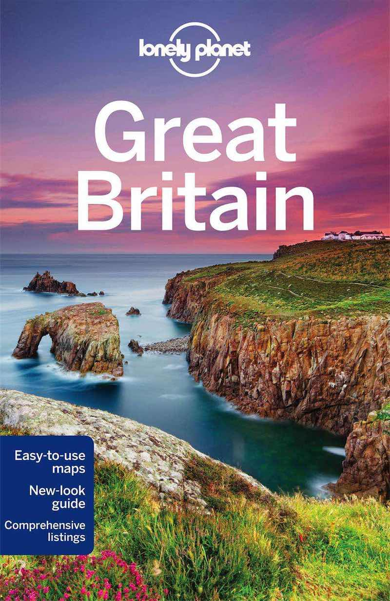 Lonely Planet Great Britain cover image