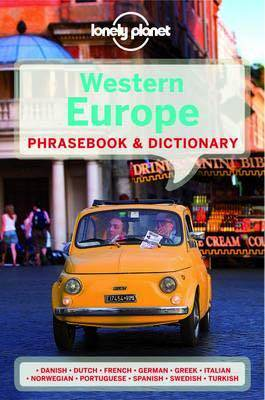 Lonely Planet Western Europe Phrasebook & Dictionary Edition 5