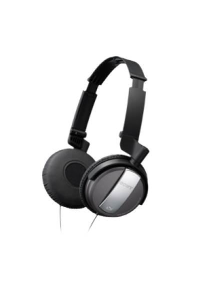 Noise Cancelling On-Ear Headphones - Black : Sony